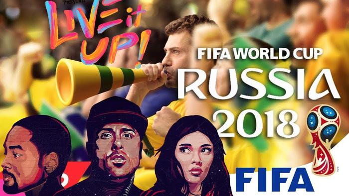 Live It Up của Nicky Jam được cho là bài hát chính thức của World Cup 2018 lại bị chê tơi tả
