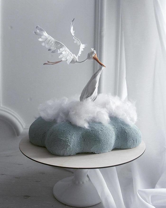 Những chiếc bánh ngọt đẹp không nỡ ăn của mỹ nhân Nga - Ảnh 7.