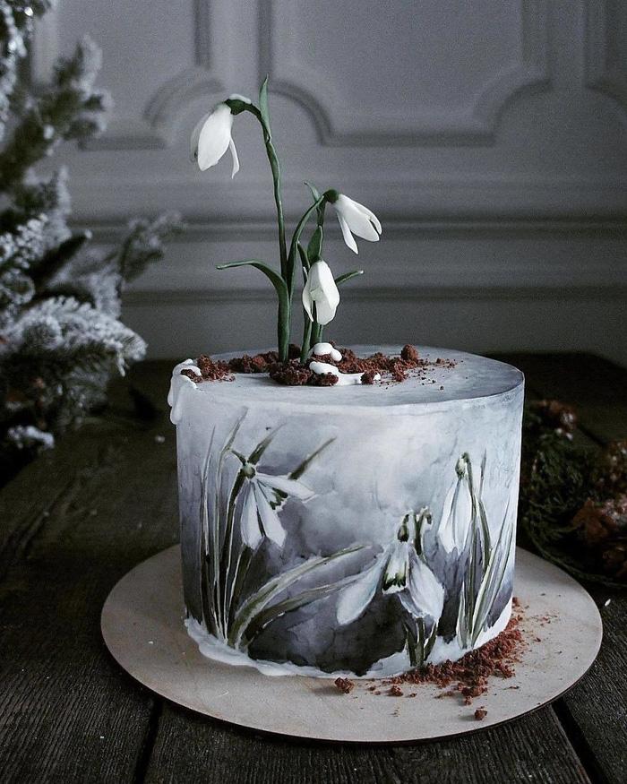 Những chiếc bánh ngọt đẹp không nỡ ăn của mỹ nhân Nga - Ảnh 10.