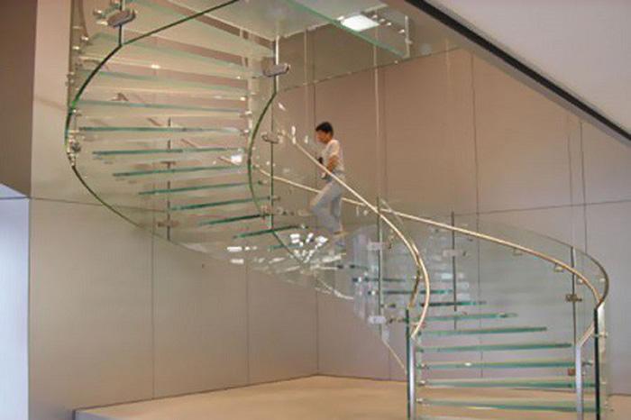 Các mẫu cầu thang bay bổng và đầy phá cách - Ảnh 3.
