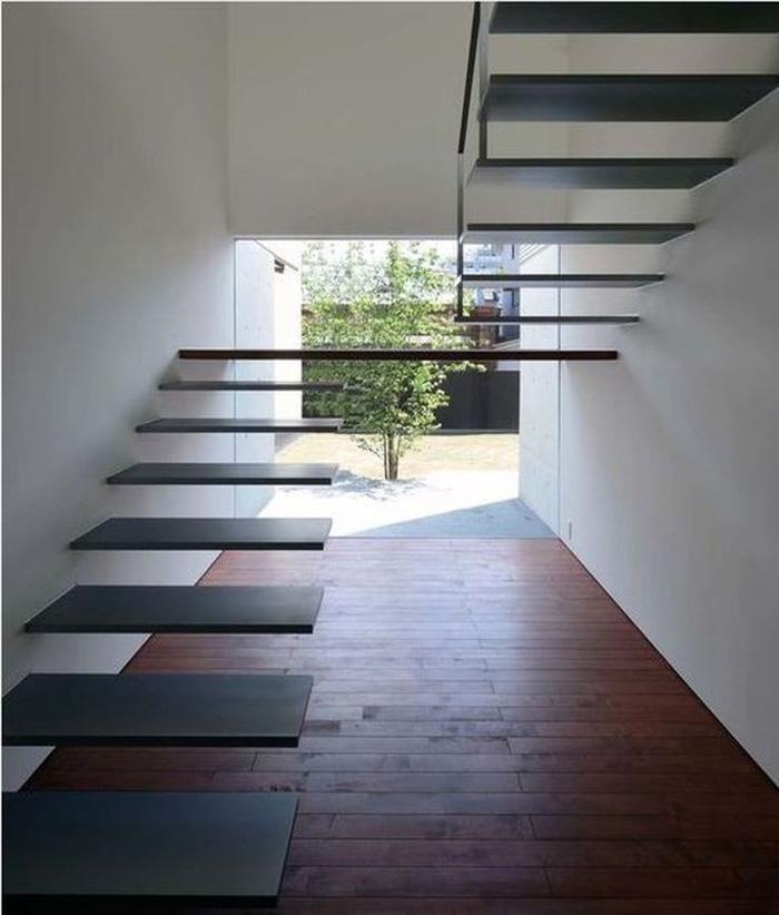 Các mẫu cầu thang bay bổng và đầy phá cách - Ảnh 5.