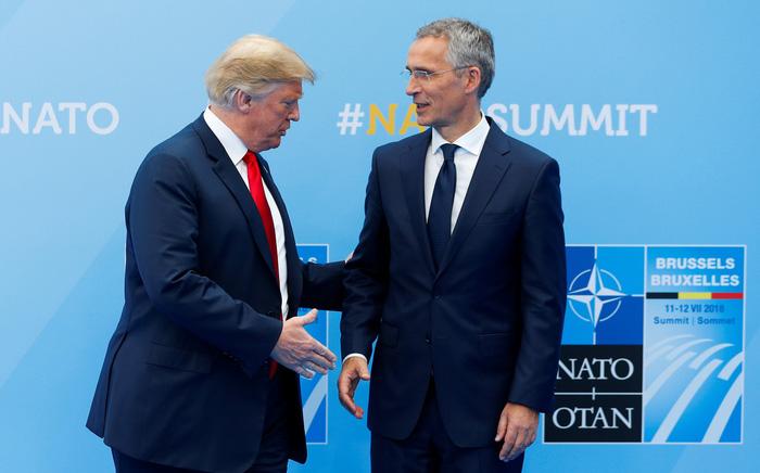 Tại sao ông Trump căng thẳng với NATO? - Ảnh 1.