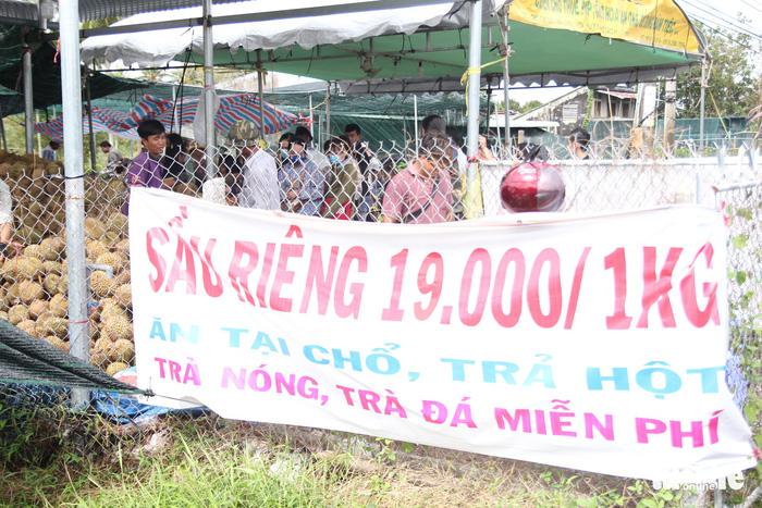 Ùn ùn đi ăn sầu riêng siêu rẻ, chỉ 19.000 đồng/kg - Ảnh 7.