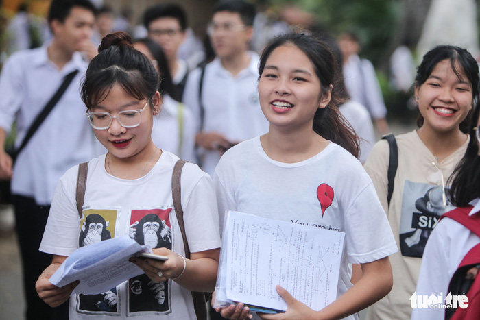 Học viện Nông nghiệp Việt Nam nhận hồ sơ từ 13 điểm - Ảnh 1.