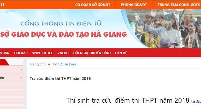 Điểm thi THPT quốc gia ở Hà Giang bất thường, Bộ GD-ĐT vào cuộc - Ảnh 2.