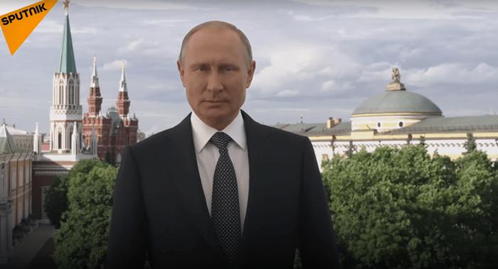 Tổng thống Putin gửi thông điệp biết ơn trước khi World Cup khép lại - Ảnh 1.