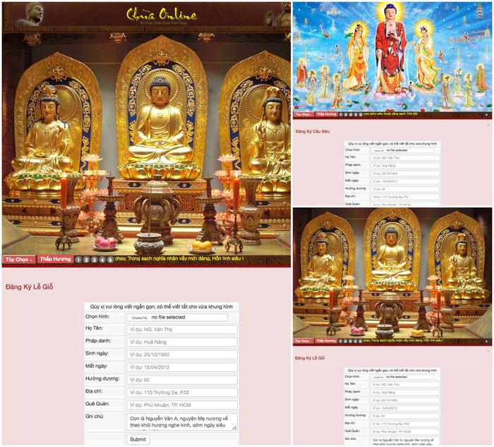 Thời buổi online, đi chùa cũng có thể đi trên... mạng! - Ảnh 3.