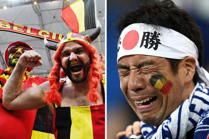 Nhật thua, fan Nhật vừa khóc nức nở lại vừa nhặt rác trên khán đài - Ảnh 1.