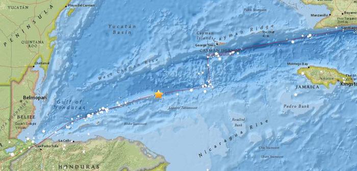 Động đất 7,8 độ Richter ở Caribbean, cảnh báo sóng thần - Ảnh 1.