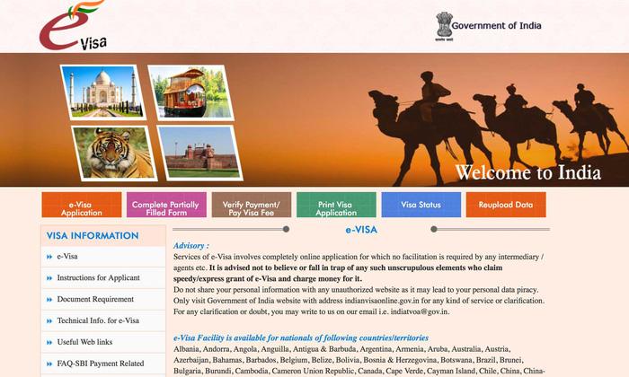 Nộp đơn xin visa Ấn Độ trực tuyến dễ thôi mà - Ảnh 1.