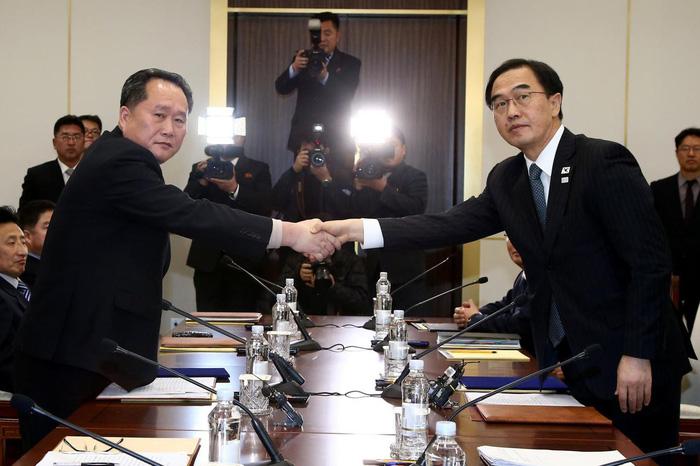 Hàn Quốc muốn 'chung một đội' với Triều Tiên ở Olympic - Ảnh 1.