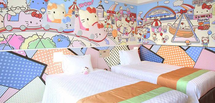 Làm công chúa trong khách sạn Hello Kitty - Ảnh 1.