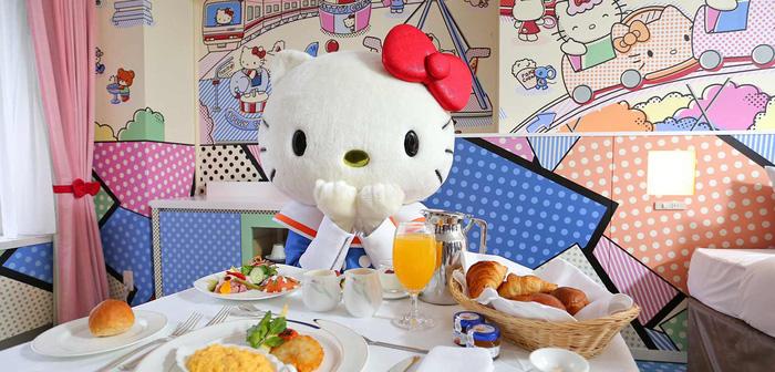 Làm công chúa trong khách sạn Hello Kitty - Ảnh 2.