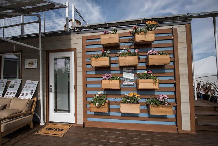 Nhà mini tự xoay dùng điện năng lượng mặt trời - Ảnh 7.
