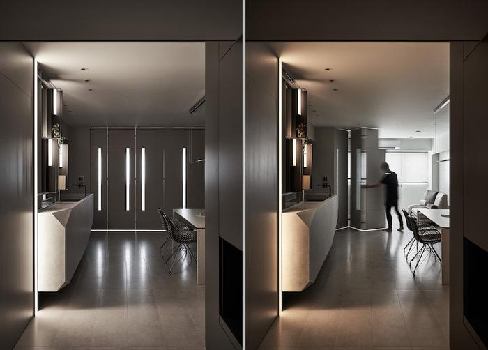 Dùng ánh sáng để trang trí toàn căn hộ - Ảnh 6.