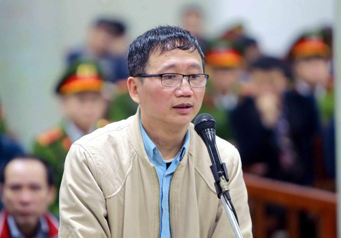 Ông Trịnh Xuân Thanh lại hầu toà vì tham ô 14 tỉ đồng - Ảnh 1.