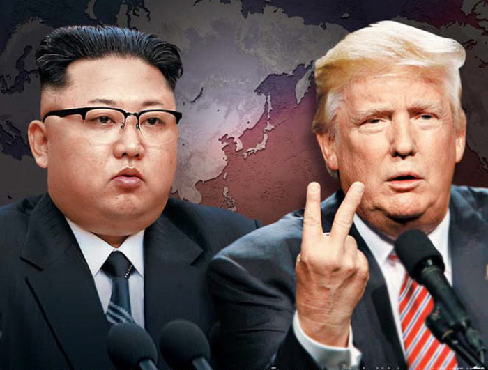 Ông Trump để ngỏ khả năng đối thoại với Triều Tiên - Ảnh 1.