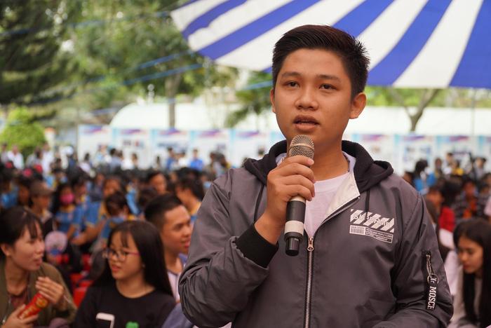 4.000 học sinh về thủ phủ sen hồng nghe tư vấn tuyển sinh - Ảnh 7.