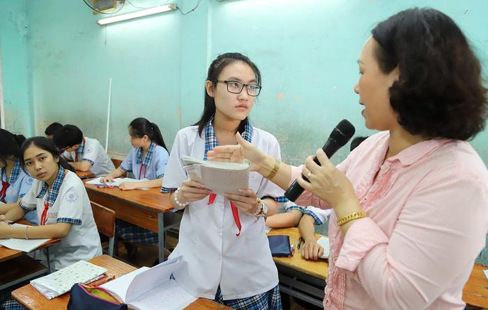 Căn cứ học lực để thay đổi nguyện vọng tuyển sinh lớp 10 tại TP.HCM - Ảnh 1.