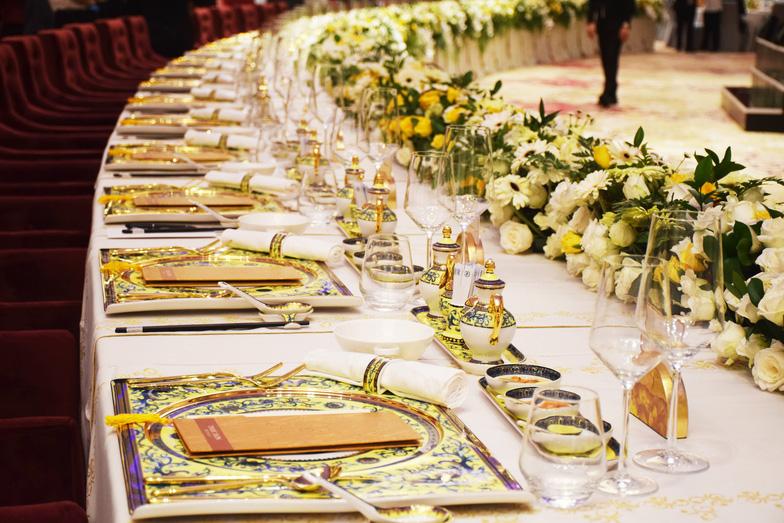 Nét đẹp quê hương trên bàn tiệc APEC - Ảnh 1.