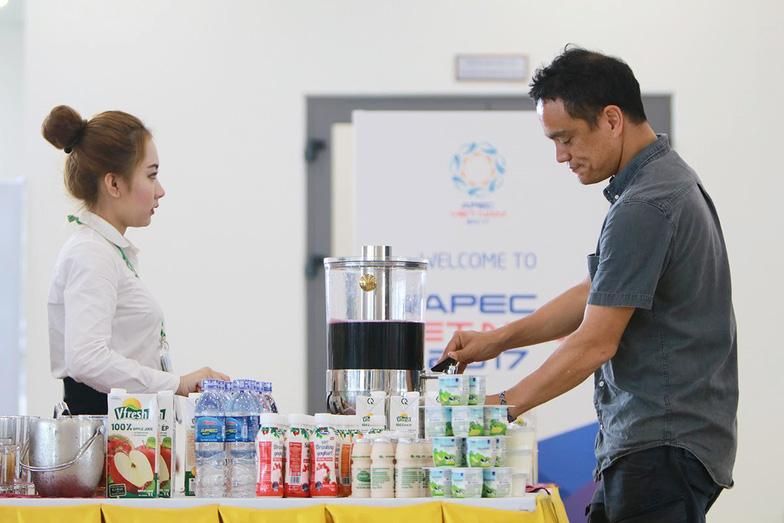 Hơn nửa triệu sản phẩm Vinamilk phục vụ APEC 2017 - Ảnh 4.