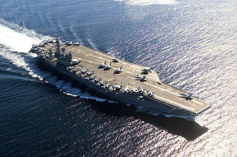 Ba tàu sân bay Mỹ tới châu Á bảo vệ ông Trump - Ảnh 13.