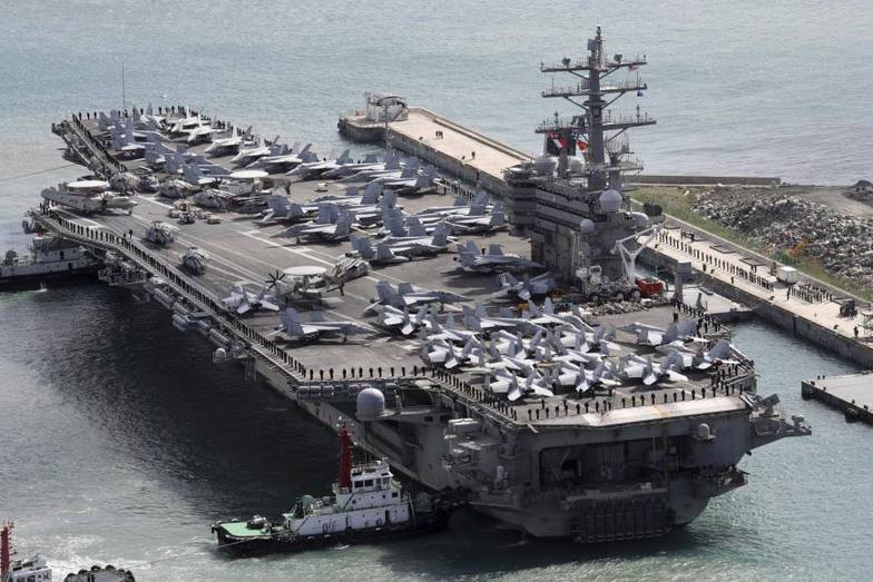 Ba tàu sân bay Mỹ tới châu Á bảo vệ ông Trump - Ảnh 6.