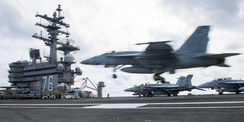 Ba tàu sân bay Mỹ tới châu Á bảo vệ ông Trump - Ảnh 5.
