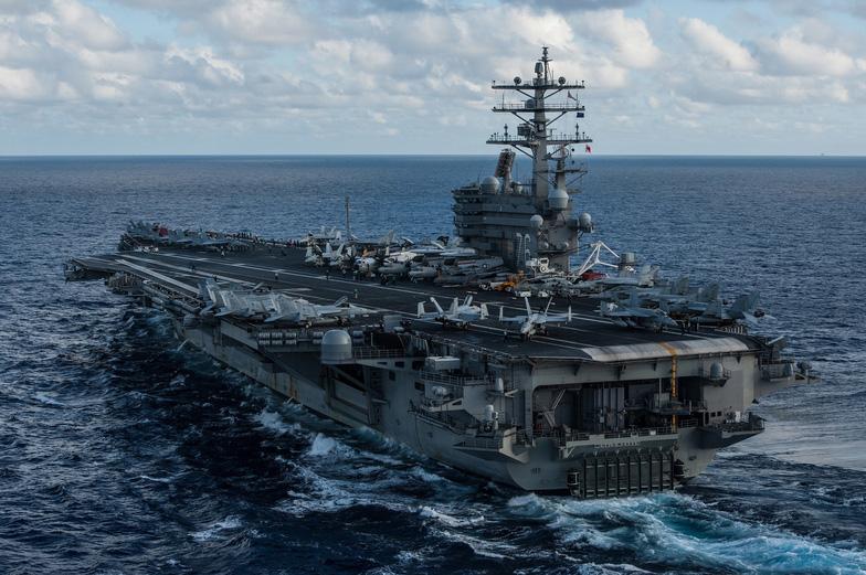 Ba tàu sân bay Mỹ tới châu Á bảo vệ ông Trump - Ảnh 4.
