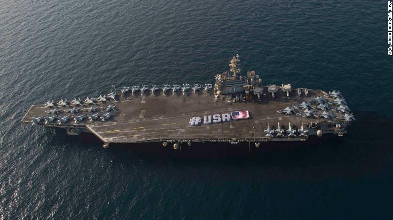 Ba tàu sân bay Mỹ tới châu Á bảo vệ ông Trump - Ảnh 9.