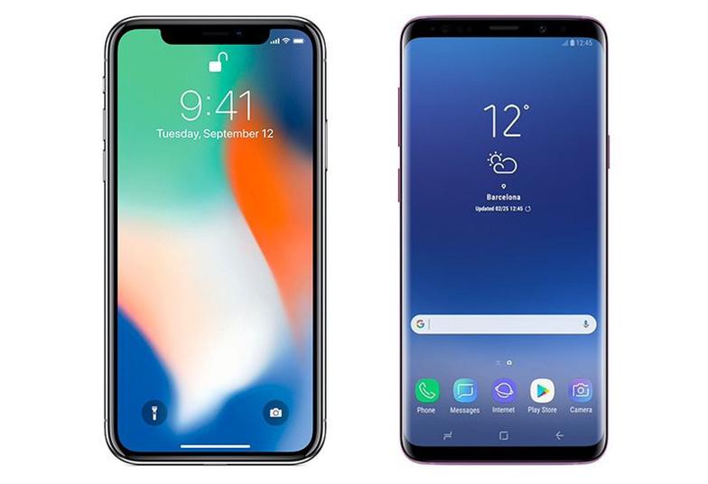 Đặt lên bàn cân Galaxy S9/S9+ và iPhone X - Ảnh 1.
