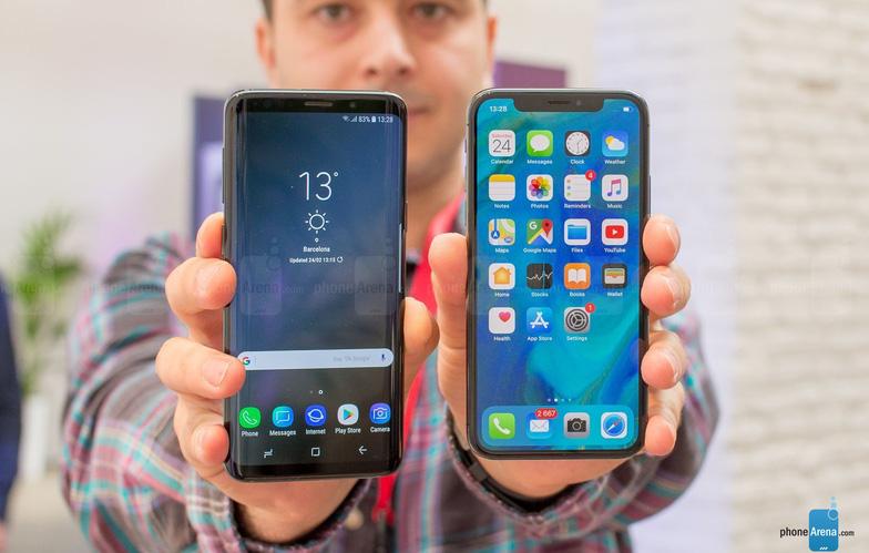 Đặt lên bàn cân Galaxy S9/S9+ và iPhone X - Ảnh 3.