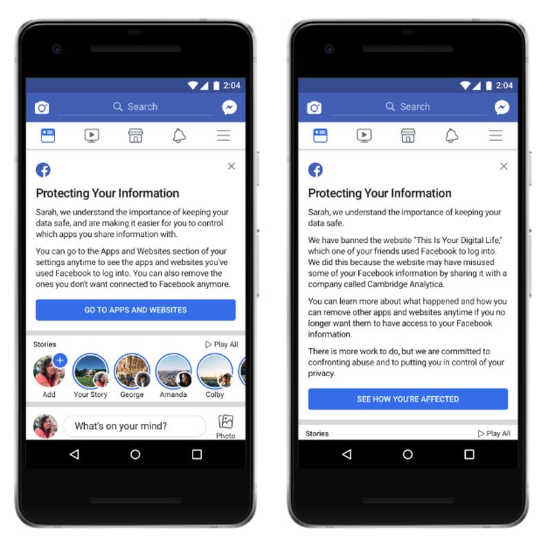 Thông báo Facebook gửi tới tài khoản bị lộ thông tin như thế nào? - Ảnh 1.