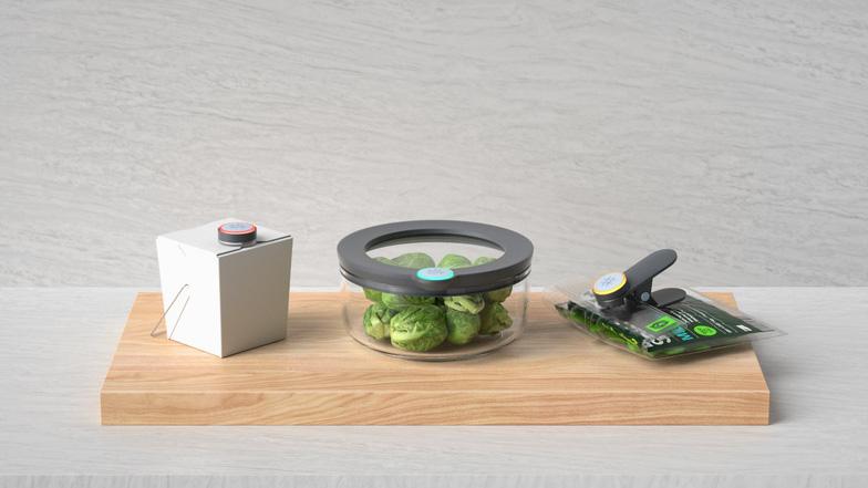Hộp đựng thông minh có thể cảnh báo bạn khi thức ăn sắp bị thiu - Ảnh 1.