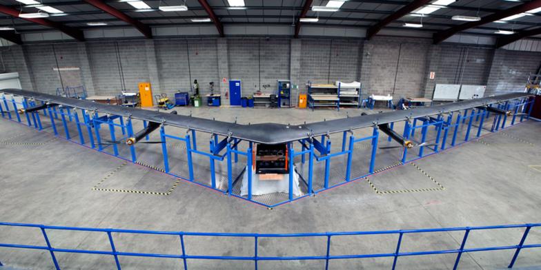 Facebook hủy dự án làm drone 'khủng' phủ sóng Internet - Ảnh 1.