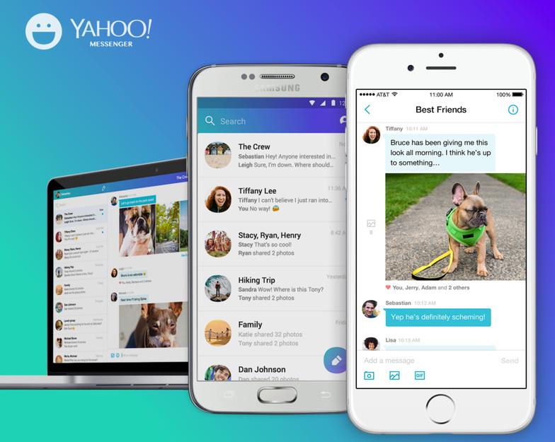 Bạn có muổn tải về các cuộc trò chuyện trên Yahoo Messenger? - Ảnh 1.