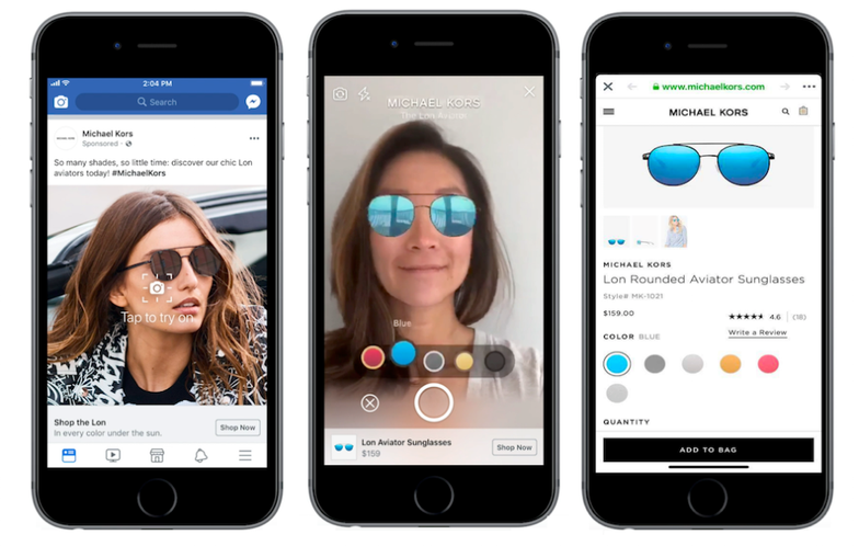 Facebook đưa quảng cáo thực tế tăng cường vào bảng cấp tin - Ảnh 1.