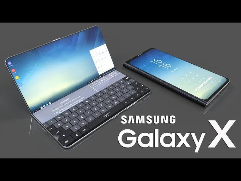 Samsung sẽ tung ra điện thoại gập được màn hình trong năm nay? - Ảnh 1.