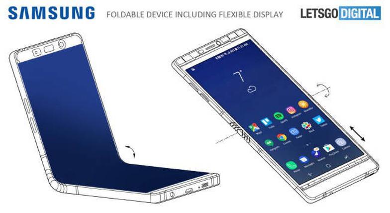 Samsung sẽ tung ra điện thoại gập được màn hình trong năm nay? - Ảnh 2.
