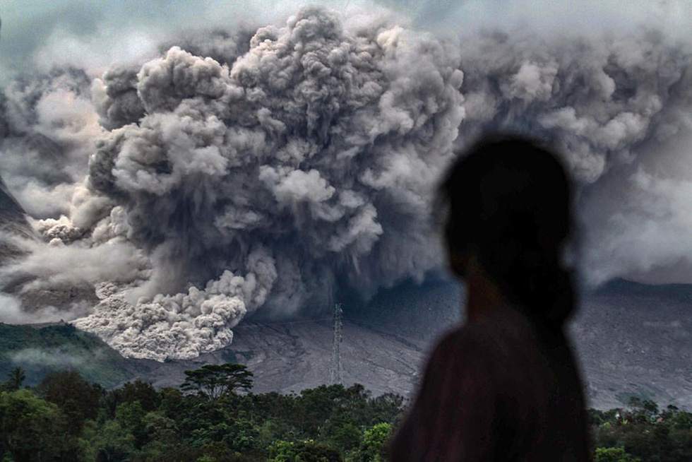 Những hình ảnh núi lửa phun trào ám ảnh trong năm 2017 - Ảnh 11.
