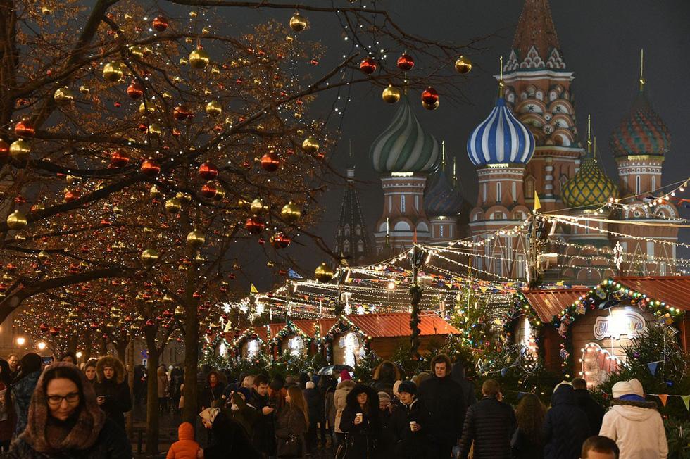 Giáng sinh rộn ràng khắp thế giới - Ảnh 6.