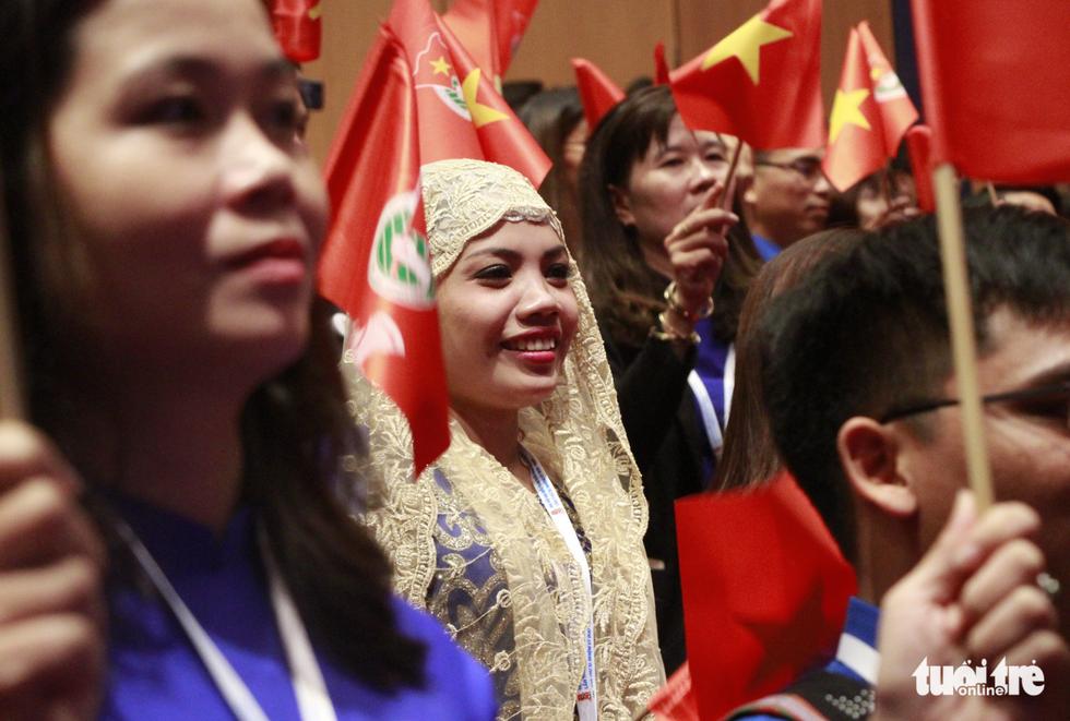 Sức trẻ rạng rỡ tại Đại hội Đoàn toàn quốc - Ảnh 4.
