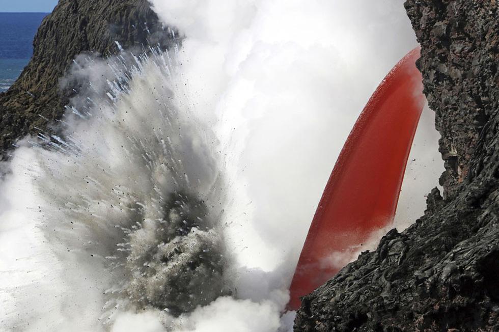Những hình ảnh núi lửa phun trào ám ảnh trong năm 2017 - Ảnh 4.
