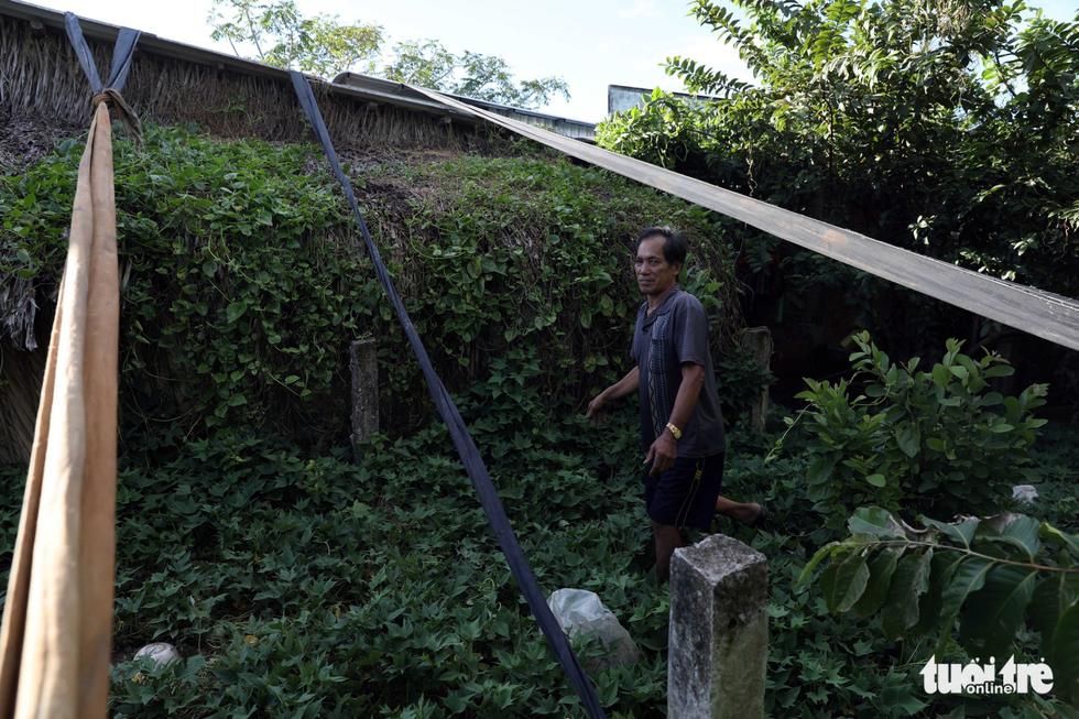 Chống bão bằng lưới, ống nước: Dân nói biết gì làm nấy - Ảnh 7.