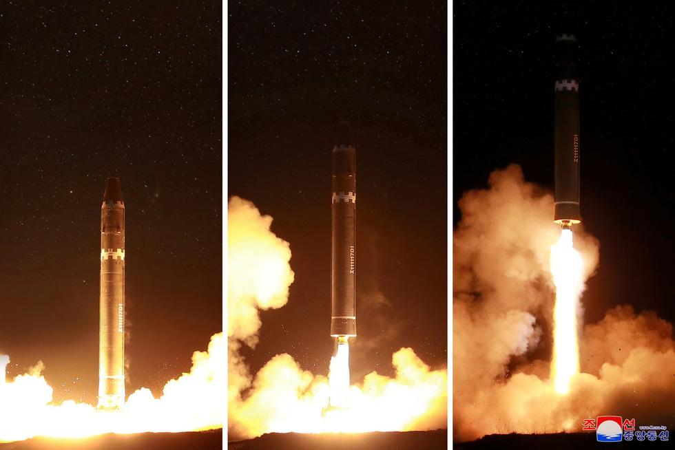 Tên lửa Hwasong-15 của Triều Tiên đáng gờm cỡ nào? - Ảnh 4.