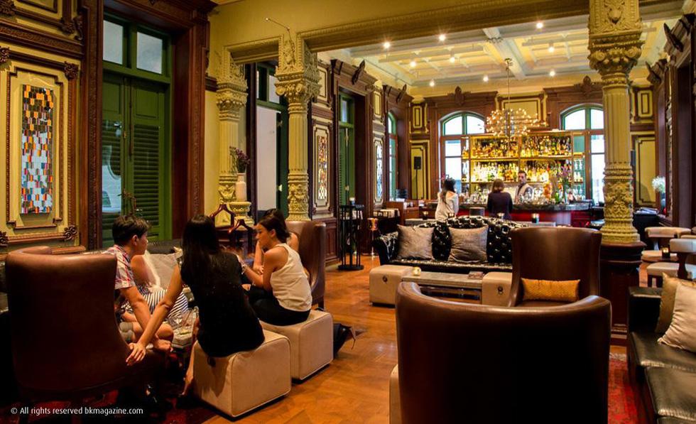 9 quán bar ở Bangkok đẹp ngất ngây - Ảnh 10.