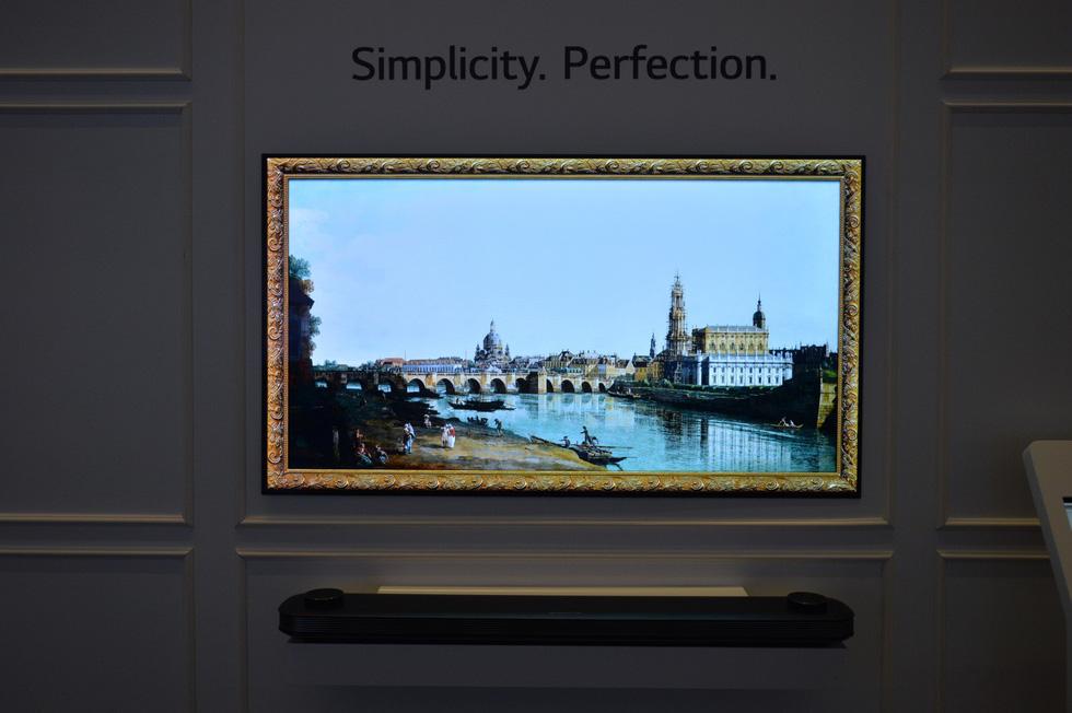 """Chiêm ngưỡng mẫu TV """"siêu mỏng"""" của LG - Ảnh 7."""