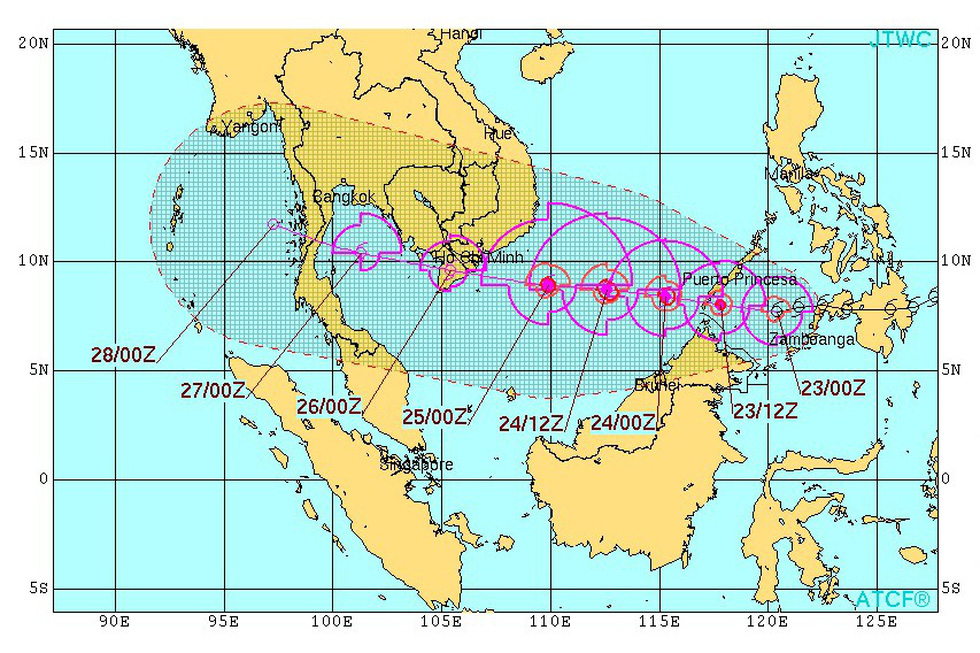 Dự kiến sơ tán gần 1 triệu dân, miền Tây ráo riết ứng phó bão Tembin - Ảnh 6.