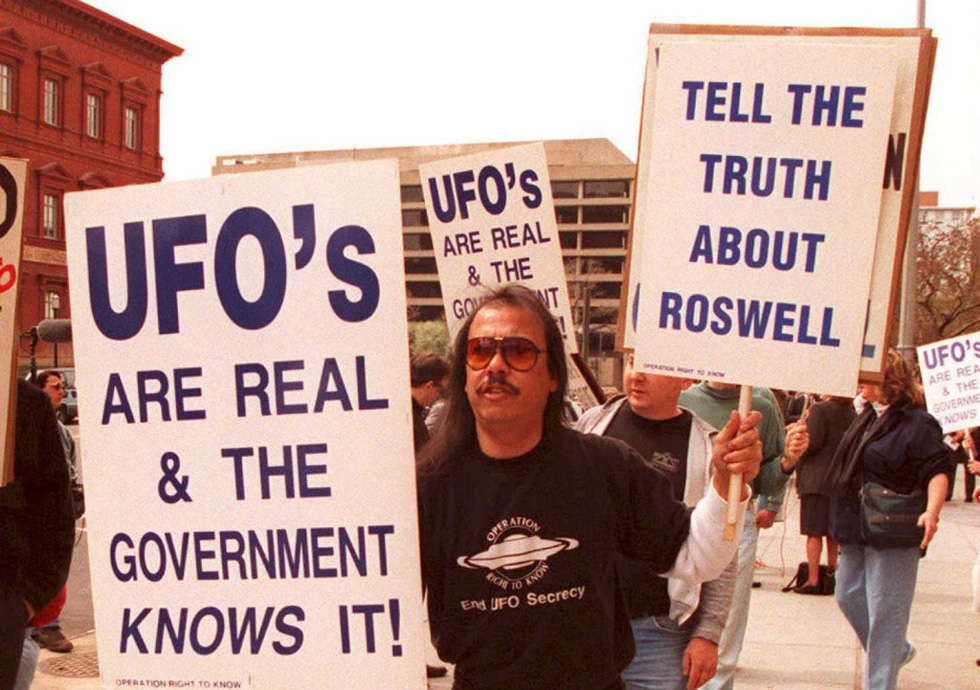 UFO - câu chuyện bí ẩn đầy mê hoặc - Ảnh 1.