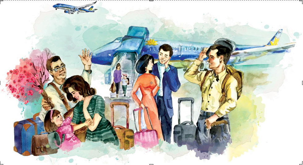 Vietnam Airlines tăng ngàn chuyến bay dịp Tết Mậu Tuất - Ảnh 1.